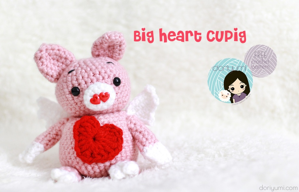 CuPig - free crochet pattern by DORIYUMI