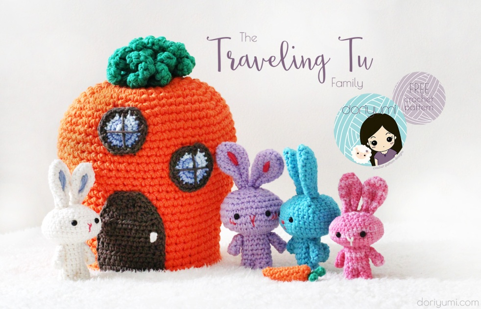 Traveling Tu Family - free crochet pattern by DORIYUMI