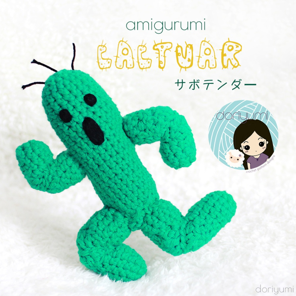 Amigurumi Cactuar - Crochet Pattern by Doriyumi
