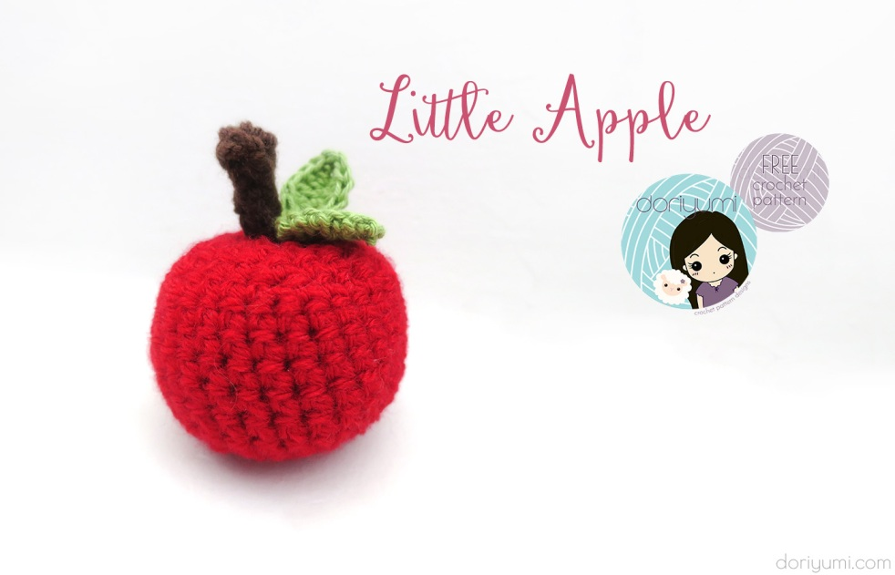 Little Apple - free crochet pattern by DORIYUMI