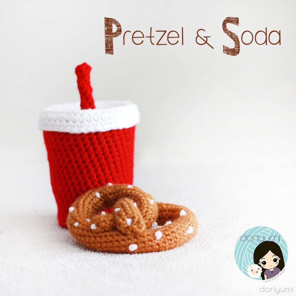 Pretzel Soda - Crochet Pattern by Doriyumi
