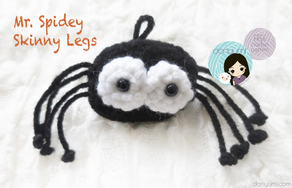 mr. spidey skinny legs - free crochet pattern by DORIYUMI
