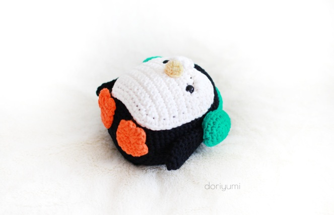 Pippa the Penguin - Crochet Pattern by Doriyumi