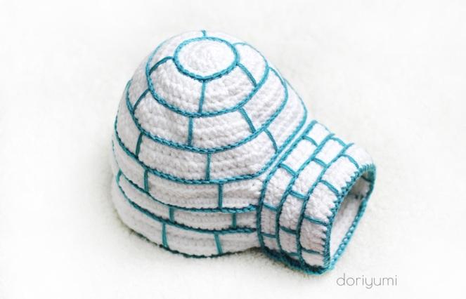 Yeti & Igloo - Crochet Pattern by Doriyumi