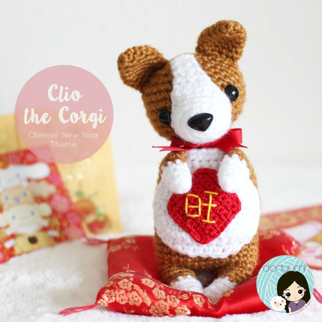 Clio the Corgi // doriyumi.com // crochet pattern