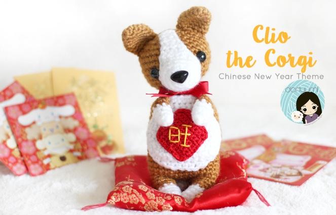 Clio the Corgi // doriyumi.com // crochet pattern