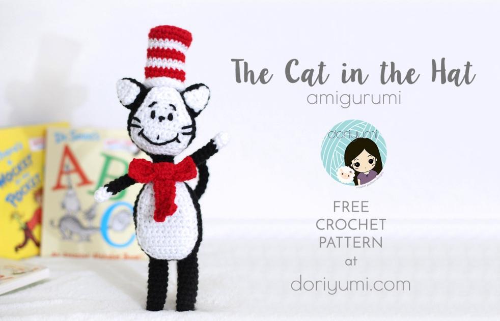 cat in the hat crochet pattern by doriyumi.com